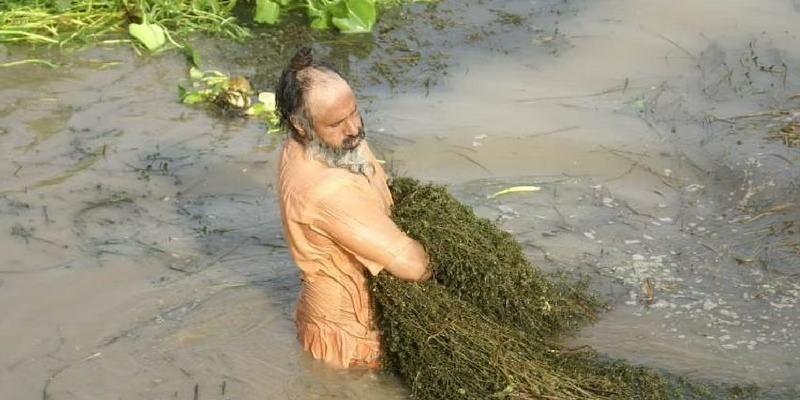 river cleaning
