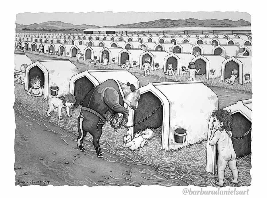 animals reverse roles