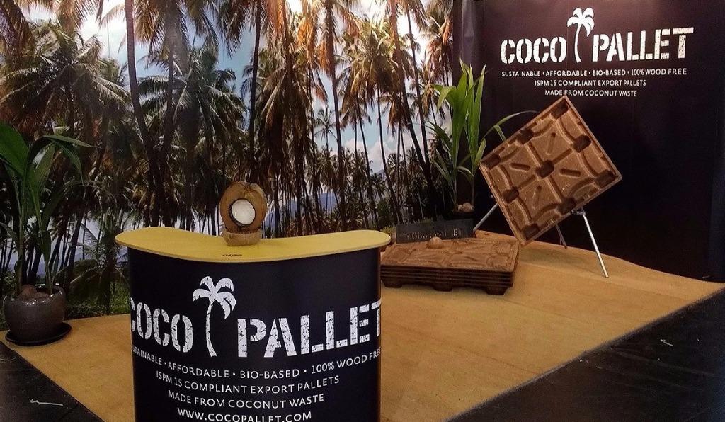 coconut husks