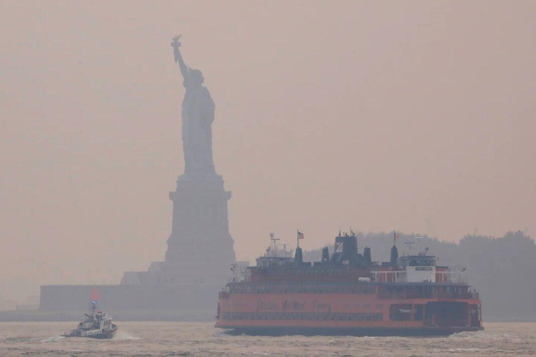 western wildfire smoke