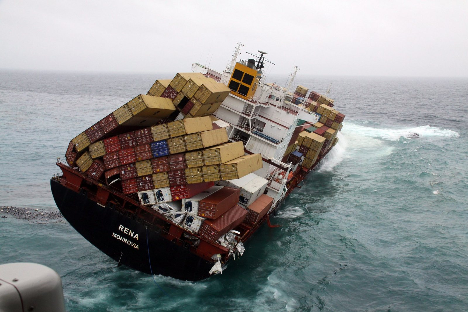 Lost Cargo Containers