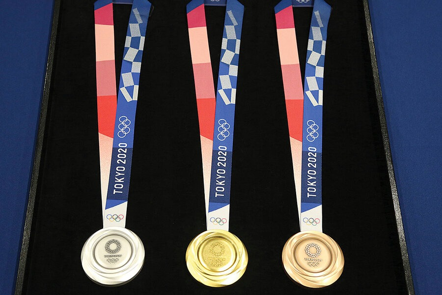 tokyo olympic medals