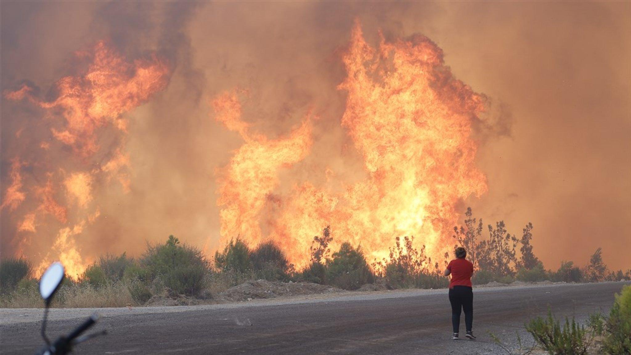 Turkey Wildfires